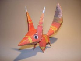 Pretztail Papercraft by Skele-kitty