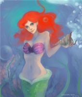 Little mermaid by AyanamiSora