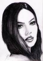 megan fox by brunoarandap