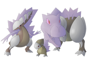 Dimensional Beast FAKEMON by Weyard
