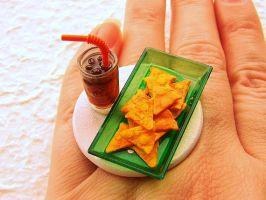 Cola Nacho Cheese Chips Ring by souzoucreations