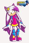 Ember the Cat on Sonic Riders 2 by AsteriskOnBlackHole