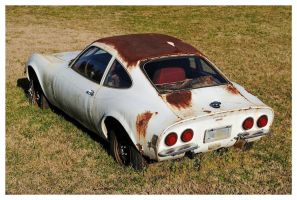 An Opel GT Left To Rust by TheMan268