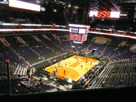 2014 view of US Airways Center by BigMac1212