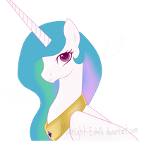 .:Princess Celestia:. by Midnight-Estelle