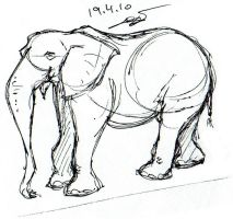 Elephant 003 + 04.10 by LPDisney