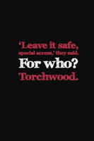 Torchwood. by inkandstardust