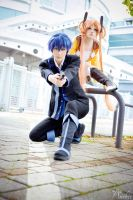 Black Bullet: Rentaro and Enju by Ansuchi