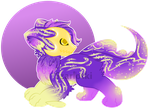 Golden Galaxy Lokifish: SET PRICE OPEN by Szarlotki