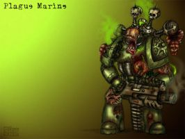 Death Guard Colored by ranin