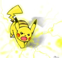 Pika Power by Ami-Cat