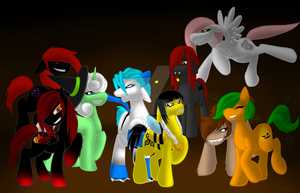 Contest Entry: GrimSoi MLP Halloween! by Chaosaholic