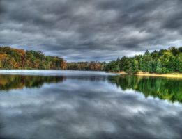 Lake Frederick Autumn HDR by jim88bro