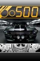 Shelby GT500 SSC iPhone wall by DeviantSith