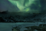 Premade BG: Northern Lights by THE-WEATHERED-RAVEN