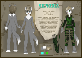 Commission for Silvodia - ref-sheet by SHAKUMl