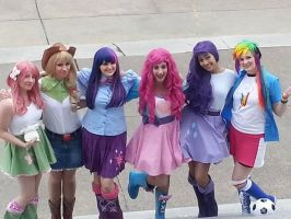 EQUESTRIA GIRLS Photoshoot preview. by DrowningInRice