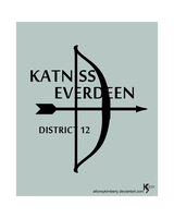 Katniss Everdeen Catching Fire Victor Poster by allonsykimberly