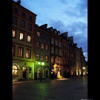 Warsaw square by YouMan