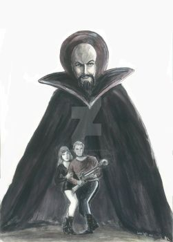 Ming the Merciless and Flash Gordon by LauraInglis