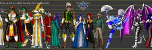 The Silver Dolphins Saga Book one lineup (WIP) by Gneiss-chert