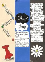 John Green Bookmarks by hatoola13