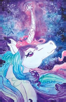 Unicorn of the Stars by Starrydance