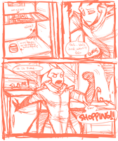 SHOPPING ADVENTUREEEE p1 by Critical-Error