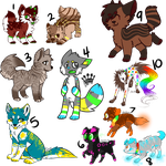 (ADOPTABLE DUMP) - [CLOSED] by Metals-Adopts