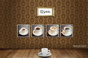Opencafe' Dream by blueanto