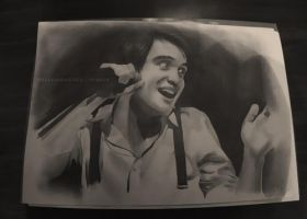 Brendon Urie Drawing by mason-musso