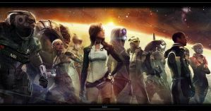 Epic Mass Effect Wallpaper by N7-KGG-MASSEFFECT