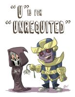 U Is For Unrequited by OtisFrampton