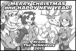 Merry Christmas 2013 by Komikino