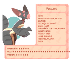 penelope profile by polywomple