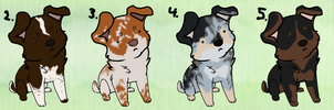 Puppy adoptables :TAKEN: by Kultapossu