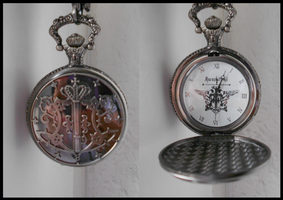 Kuroshitsuji Pocket Watch by SweetLittleVampire