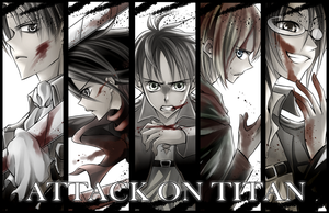 SnK: Bloody Bookmarks by YummySuika