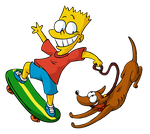 Bart Simpsons by DrewBlueberry