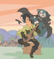 the musician and the enchantress by Kikaigaku