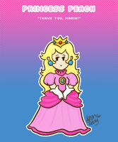 Sweet Mario - Princess Peach by SweetAppleTea