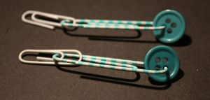 Turquoise Earrings by A301P