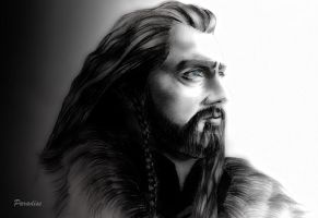 Thorin Oakenshield (blue eyes) by Tottaparadise