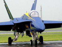 Blue Angel 5 close up by aurora900