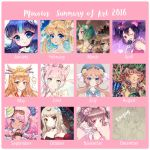 2016SummaryofArt by MIAOWx3