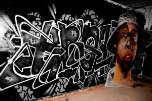jay dilla tribute wall by chromers by chromers-art