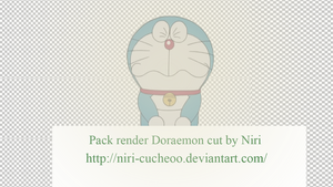 Render Doraemon cut by Niri by Niri-Cucheoo