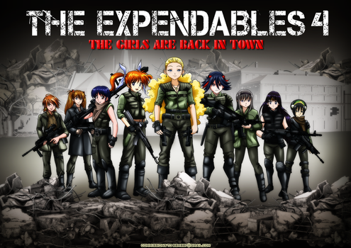 Expendables by bbmbbf