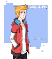 Futurama - Philip J. Fry by Sardiini