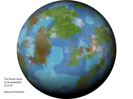 The Planet Ishtar(New Generation:Torment Recoder) by SnowWolf10